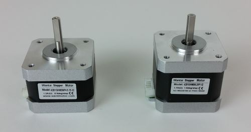 Difference between new motor (Left) and old motor (Right)